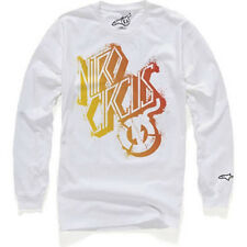 Alpinestars Skewed Long Sleeve Tee (M) White