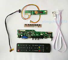 "TV T.VST56 HDMI LCD CVBS RF Controller board Kit for LTN156AT01 17"" 1440X900"