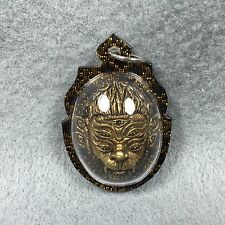 HEAD 4 EARS 5 EYES Ajahn Tawee Powerful Protect Amulet Thai Buddha Pendant #5