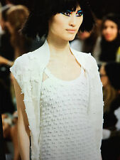 CHANEL 14P NEW Most Wanted White Textured Bow embellishment Jacket FR38-42 $4K