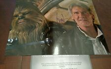 Harrison Ford Hand signed 8 x 10 Color Photo W/ COA