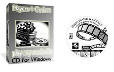 Media Players Codecs Converters, Play Any DVD AVI MP3 DIVX, PC CD For Windows