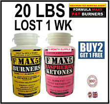 STRONG WEIGHT LOSS DIET PILLS SLIMMING FAT BURNERS TABLETS LEGAL CAPSULES FMAX5