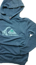 NWT Quiksilver Rooney Pullover Long Sleeve  Blue Hoodie Large   P19