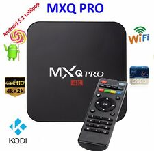 MXQ Pro 4K Amlogic S905 Android 5.1 Quad-Core WiFi Smart TV Box 8GB Kodi 64bit