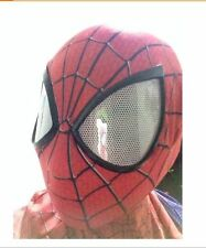 Stunning Amazing Spider-Man 2 mask 3D Digital printing red hood Spiderman