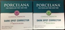 Porcelana Dark Spot Corrector Night & Daytime Cream  3oz each one.