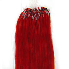 """100s Easy Loop Micro Ring Beads Ombre T-Colour Remy Human Hair Extensions16-26"""""""