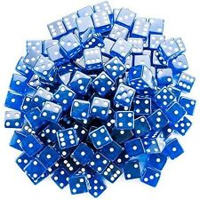 Brybelly 100 Count 19mm Dice (Blue)