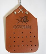NEW FLY SWATTER - REAL LEATHER