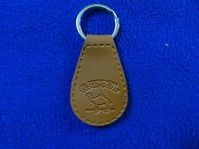 CAMEL CIGARETTES New Camel Leather Keychain Tan