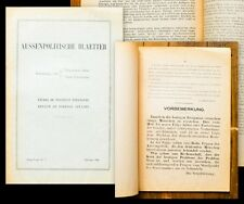 1944 Flugschrift Kojeve Alexandre Aussenpolitische Blaetter