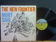 MORT SAHL   The New Frontier  LP  Comedy    GREAT !!