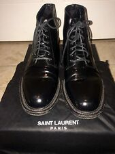Saint Laurent Black Boots Mens 45