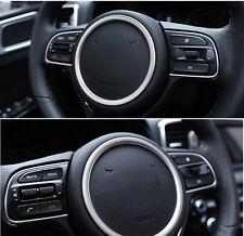 For 2016 Kia Optima Steering Wheel Center Panel Ring Badge Frame Cover Trim 1pcs
