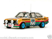 FORD ESCORT MKII RALLY NO23 WRC 1:18 DIECAST MODEL RARE SUPERB BOXED NEW SUNSTAR
