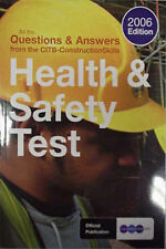 Health and Safety Test Book 2006,GOOD Book