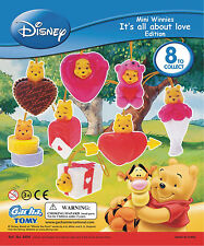 Peek-A-Pooh It's All About Love Valentines Complete Set 8 pc Disney Winnie