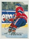 1995-96 Be A Player Montreal Canadiens Autograph Die-Cut #S111 Lyle Odelein