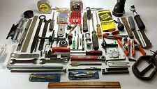 lot tools tape measure flashlight circle cutter Pony Clamp craftsman 3201 wrench