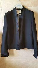 Neuve veste MAJE taille 40 noire modèle armure