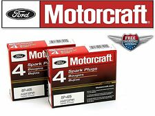8 Motorcraft Spark Plug SP405 with Dielectric Grease & Anti-Size Lubricant