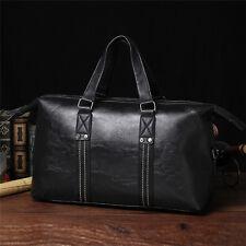Men Leather Large Vintage Travel Gym weekend Overnight Messenger Bag Handbag