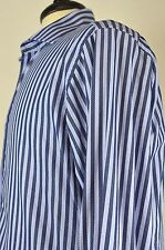 Hawes Curtis Men's Dress Shirt Size 15.5 Cotton Spread Collar Stripe French Cuff