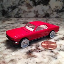 HOT WHEELS 65 FORD MUSTANG DIE CAST CAR 1/64 SCALE 1965