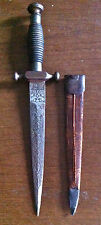 "dagger 1800 era Spain marked ""f. DE TOLEDO"" said ""pulls blood"""