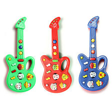 3pcs Lovely Electronic Guitar Nursery Rhyme Music Toy For Infant Boys Girls