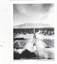 """Postcard-""""The Redstone Launch""""  ...White Sands Missile Range, NM (#80)"""