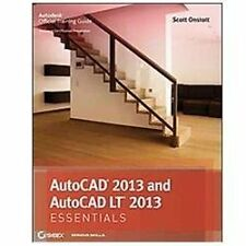 AutoCAD 2013 and AutoCAD LT 2013 by Scott Onstott (2012, Paperback)
