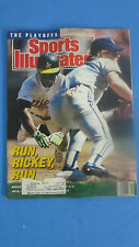 SPORTS ILLUSTRATED-OCT.16,1989-RUN RICKEY RUC- RICKY HENDERSON