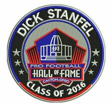 PRO FOOTBALL HALL OF FAME PATCH INDUCTION DICK STANFEL DETROIT LIONS NFL 2016