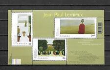 pk21596:Stamps-Canada #2068 Jean Paul Lemieux Souvenir Sheet - MNH