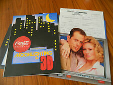 MOONLIGHTING -COCA-COLA PROMOTION 1989 COMPLETE BOTTLER PROMOTION GUIDE