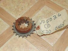 Nos Vintage PPT PassePartout Twin Tracked Vehicle Gear Sprocket For 520 Model
