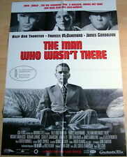 Cohen Brothers THE MAN WHO WASN`T THERE  original Kino Plakat A1