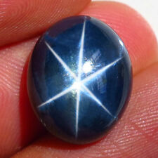18.36ct.GORGEOUS! 100%NATURAL 6 RAYS DEEP BLUE STAR THAILAND'S SAPPHIRE GIANT!