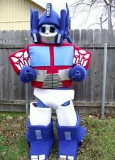 Optimus Prime Transformer Adult Mascot Costume ONLY been worn once Almost in MIN