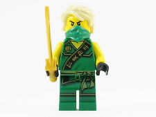 LEGO Ninjago Sleeveless Lloyd Green Ninja Minifigure Gold Sword Hair