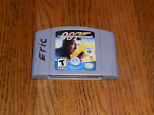 007: The World is Not Enough (Nintendo 64, 2000) TESTED JAMES BOND GREY CART N64