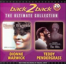 Pendergrass, Teddy Back 2 Back CD
