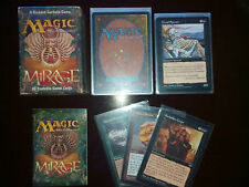 Magic the Gathering Mirage 1996 ed 60 tradable game cards