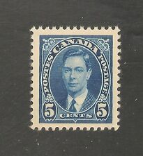 Canada #235 VF MNH - 1937 5c King George VI
