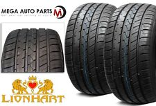 2 NEW Lionhart LH-FIVE 255/45R20 105W XL All Season Ultra High Performance Tires