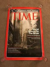Call of Duty Modern Warfare 3 Double-sided Poster Time Magazine COD MW3 (RARE)