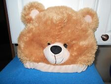 BEAR HAT TOY NETWORK VGC CUTE ONE SIZE