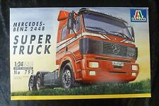 Italeri 793 Mercedes Benz Super Truck Model Truck Kit 1/24 Scale